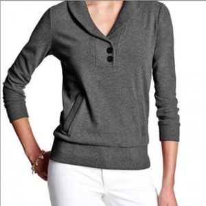 Express Charcoal Gray Pullover